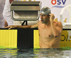 27.11.2011, Aqua Nova, Wiener Neustadt, AUT, OSV, 38. STROECK Austrian Qualifying 2011 im Schwimmen, Freestyle A Final, im Bild Randall Bal, USA // Randall Bal, USA during Freestyle A Final at 38th STROCK Austrian Qualifying 2011 in swimming at indoor swimming pool in Aqua Nova, Wiener Neustadt, Austria on 2011/11/27. EXPA Pictures © 2011, PhotoCredit: EXPA/ Stephan Woldron