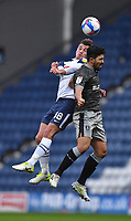Preston North End's Ryan Ledson battles with Sheffield Wednesday's Massimo Luongo<br /> <br /> Photographer Dave Howarth/CameraSport<br /> <br /> The EFL Sky Bet Championship - Preston North End v Sheffield Wednesday - Saturday 21st November 2020 - Deepdale - Preston<br /> <br /> World Copyright © 2020 CameraSport. All rights reserved. 43 Linden Ave. Countesthorpe. Leicester. England. LE8 5PG - Tel: +44 (0) 116 277 4147 - admin@camerasport.com - www.camerasport.com