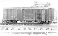Side view of box car #3630.<br /> D&RGW