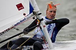 Marit Bouwmeester, laser radial  © Sander van der Borch - Medemblik - the Netherlands, May 26th 2011. Delta Lloyd Regatta in Medemblik (26/30 May 2011). Day 3.