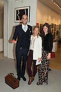 DRUMMOND MONEY-COUTTS; , DAVINA HARBORD; ALEXANDRA CRONAN,  20/21 British Art Fair. Celebrating its 25 Anniversary. The Royal College of Art . Kensington Gore. London. 12 September 2012.