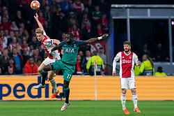 08-05-2019 NED: Semi Final Champions League AFC Ajax - Tottenham Hotspur, Amsterdam<br /> After a dramatic ending, Ajax has not been able to reach the final of the Champions League. In the final second Tottenham Hotspur scored 3-2 / Frenkie de Jong #21 of Ajax, Moussa Sissoko #17 of Tottenham Hotspur