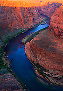 Horseshoe Bend on the Colorado River near Page, Arizona