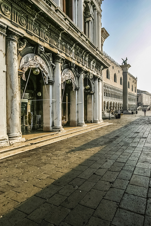 The Biblioteca Nazionale Marciana (English: National Library of St Mark's) is a library and Renaissance building in Venice, Italy.  It is one of the earliest surviving public manuscript depositories in the country, holding one of the greatest classical texts collections in the world.