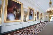 Openstelling Paleis Noordeinde en het Koninklijk Staldepartement<br /> <br /> Op de foto: Galerijzaal