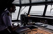 Patagonia, cruising with Ventus Australis. inside the Bridge