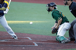 08 July 2017: Craig Lepre during a Frontier League Baseball game between the Traverse City Beach Bums and the Normal CornBelters at Corn Crib Stadium on the campus of Heartland Community College in Normal Illinois