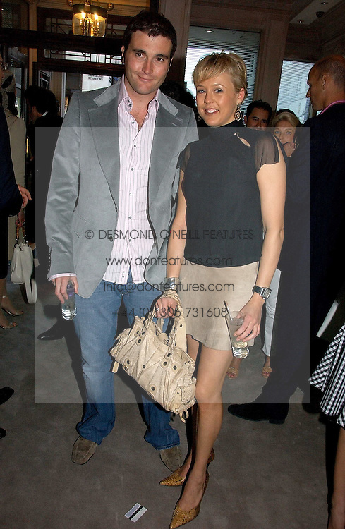LADY ALEXANDRA SPENCER-CHURCHILL and DAVID PEACOCK at a party to celebrate the re-opening of the David Morris Flagship store at 180 New Bond Street, London on 14th June 2006.<br /><br />NON EXCLUSIVE - WORLD RIGHTS