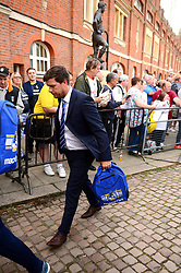 Bristol Rovers manager Darrell Clarke arrives for the game against Fulham - Mandatory by-line: Dougie Allward/JMP - 22/08/2017 - FOOTBALL - Craven Cottage - Fulham, England - Fulham v Bristol Rovers - Carabao Cup