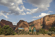 SHOT 8/6/17 6:51:35 PM - UOT Tourism photos of Brian Head and Cedar City, Utah. Images include riding Brian Head Resort in Brian Head, Utah; exploring Cedar Breaks National Monument, hiking Kolob Canyons in Zion National Park and mountain biking the Lava Flow Trail in Cedar City, Utah. (Photo by Marc Piscotty / © 2017)