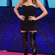 Amber Davies attended 'Everybody's Talking About Jamie' film premiere at Royal Festival Hall, London, UK. 13 September 2021