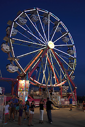 07 August 2015:   McLean County Fair -  Ferris Wheel