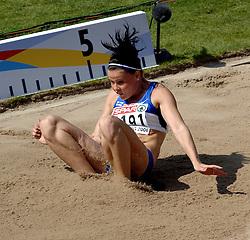 08-08-2006 ATLETIEK: EUROPEES KAMPIOENSSCHAP: GOTHENBORG <br /> KOVALAINEN Maija (FIN)<br /> ©2006-WWW.FOTOHOOGENDOORN.NL