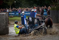 Coudry Thibault, FRA, Conroy, Faberge du Hans, Rodney, Tommyboy, Victor<br /> FEI European Driving Championships - Goteborg 2017 <br /> © Hippo Foto - Dirk Caremans<br /> 26/08/2017,