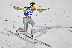 24.11.2012, Lysgards Schanze, Lillehammer, NOR, FIS Weltcup, Ski Sprung, Herren, im Bild Prevc Peter (SLO) during the mens competition of FIS Ski Jumping Worldcup at the Lysgardsbakkene Ski Jumping Arena, Lillehammer, Norway on 2012/11/23. EXPA Pictures © 2012, PhotoCredit: ..EXPA/ Federico Modica