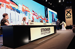 SNP Spring Conference, Sunday 28th April 2019<br /> <br /> Pictured: Ian Blackford MP, leader of the SNP group at Westminster<br /> <br /> Alex Todd   Edinburgh Elite media