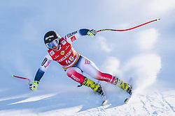 10.01.2020, Keelberloch Rennstrecke, Altenmark, AUT, FIS Weltcup Ski Alpin, Abfahrt, Damen, 2. Training, im Bild Jennifer Piot (FRA) // Jennifer Piot of France in action during her 2nd training run for the women's Downhill of FIS ski alpine world cup at the Keelberloch Rennstrecke in Altenmark, Austria on 2020/01/10. EXPA Pictures © 2020, PhotoCredit: EXPA/ Johann Groder