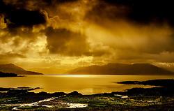 Looking across towards Loch Hourn on the Scottish mainland from the Island of Skye<br /> <br /> (c) Andrew Wilson | Edinburgh Elite media