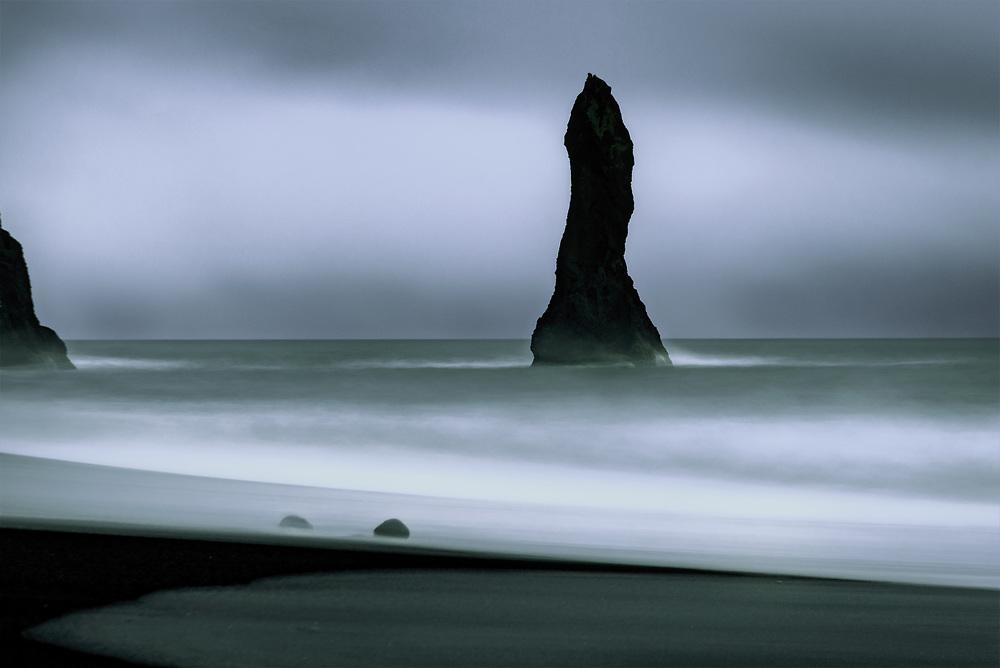 Reynisdrangar sea stack, South Iceland