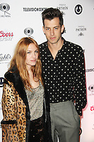 Josephine de la Baume & Mark Ronson, Mark Ronson - Album Launch Party, Television Centre, London UK, 23 January 2015, Photo By Brett D. Cove