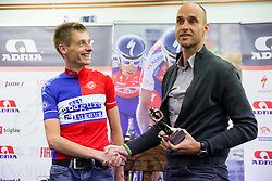 Tomaz Grm, president of KZS and Tomaz Nose, rider of KK Adria Mobil when he retires as a professional cycling athlete, on November 6, 2014 in Cesca vas, Novo mesto. Foto: Vid Ponikvar / Sportida
