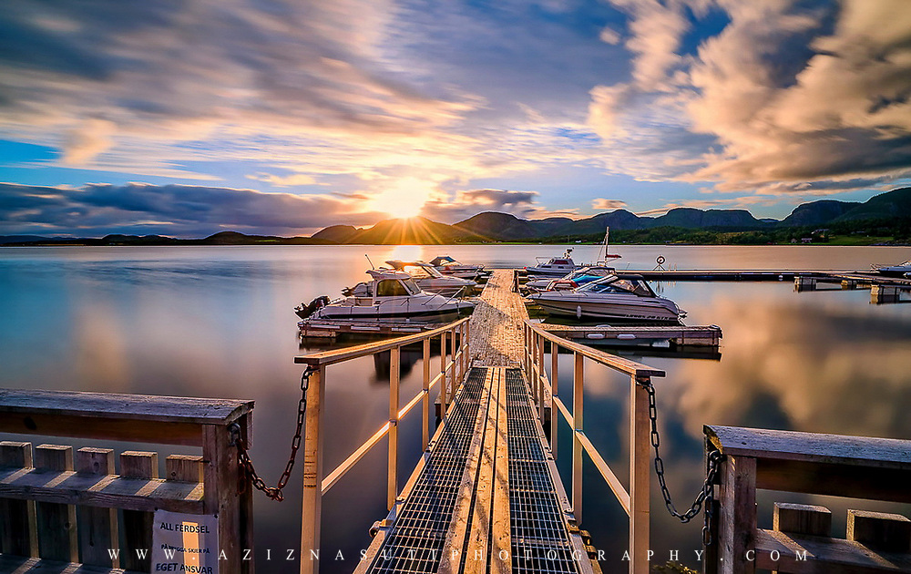 Lysøysund was amazing in that morning!