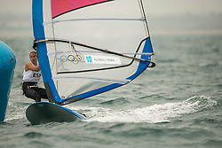 31.07.2012, Bucht von Weymouth, GBR, Olympia 2012, Windsurfen, im Bild RS:X Women, Alabau Marina (ESP) . EXPA Pictures © 2012, PhotoCredit: EXPA/ Juerg Kaufmann ***** ATTENTION for AUT, CRO, GER, FIN, NOR, NED, POL, SLO and SWE ONLY!