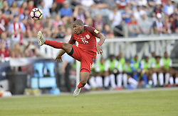 June 8, 2017 - Commerce City, Colorado, United States - Commerce City, CO - Thursday June 08, 2017: Darlington Nagbe during their 2018 FIFA World Cup Qualifying Final Round match versus Trinidad & Tobago at Dick's Sporting Goods Park. (Credit Image: © John Todd/ISIPhotos via ZUMA Wire)