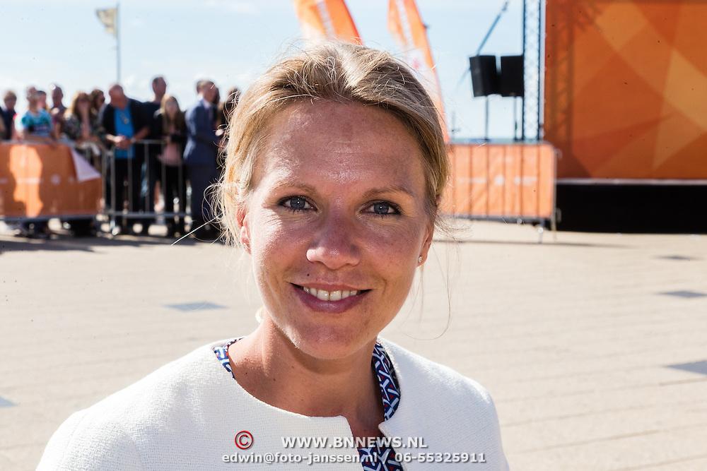 NLD/Scheveningen/20160713 - Perspresentatie sporters voor de Olympische Spelen 2016 in Rio de Janeiro, Esther Vergeer