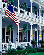 Maison Louisiane built in 1898, now a historic Bed and Breakfast, Natchitoches, Louisiana.