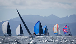 Clyde Cruising Club's Scottish Series 2019<br /> 24th-27th May, Tarbert, Loch Fyne, Scotland<br /> <br /> Day  1 - Perfect Conditions on loch Fyne.<br /> <br /> GBR9214R, Jammin, Doug & Alastair Paton, Fairlie Yacht Club, J92<br /> <br /> Credit: Marc Turner / CCC