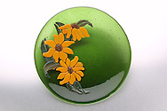 Hand-crafted Glass dish by Karen Moyer