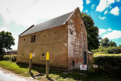 The Bell Inn in Imber village on Salisbury Plain, Wiltshire, where residents were evicted in 1943 to provide an exercise area for US troops preparing to invade Europe. Roads through the MoD controlled village are now open and will close again on Monday August 22.