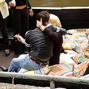 NLD/Amsterdam/20050808 - Deelnemers Sterrenslag 2005, Aram van der Rest en Viola Holt