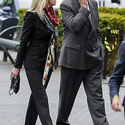 NLD/Bilthoven/20120618 - Uitvaart Will Hoebee, Marga Bult en partner Jan van Ingen