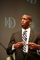 .Institute of Directors Annual Convention 2010.Michael Johnson speaking at the convention....