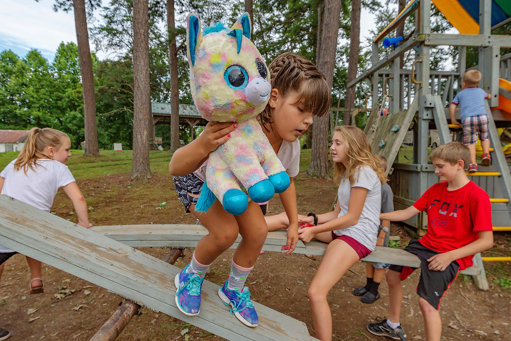 at Shenandoah Family camp in Culloden, W.V. on Thursday, August 02, 2018.