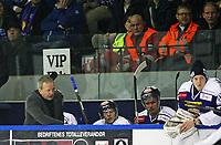 Ishockey , <br /> GET-ligaen , <br /> NM finale , <br /> Sparta v Stavanger ,  <br /> 31.03.2011 , <br /> Sparta trener Lenny Eriksson , <br /> Foto: Thomas Andersen / Digitalsport ,