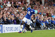 Idrissa Gueye of Everton in action. Premier league match, Everton v Middlesbrough at Goodison Park in Liverpool, Merseyside on Saturday 17th September 2016.<br /> pic by Chris Stading, Andrew Orchard sports photography.