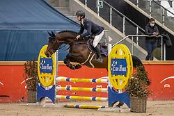 Vermeiren Dieter, Rockit-k Van't Kattenheye<br /> Pavo Hengsten competitie - Oudsbergen 2021<br /> © Hippo Foto - Dirk Caremans<br />  22/02/2021
