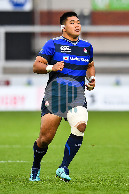 Jiwon Koo of Japan <br /> <br /> Photographer Craig Thomas<br /> <br /> Japan v Russia<br /> <br /> World Copyright ©  2018 Replay images. All rights reserved. 15 Foundry Road, Risca, Newport, NP11 6AL - Tel: +44 (0) 7557115724 - craig@replayimages.co.uk - www.replayimages.co.uk