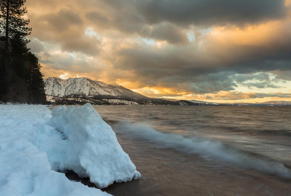 Lake Tahoe Basin.  California/Nevada.  February, 2017.
