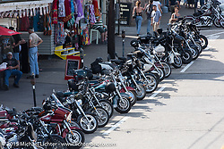 The Weirs Beach area during Laconia Motorcycle Week. Laconia, NH, USA. June 13, 2015.  Photography ©2015 Michael Lichter.