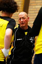 20150425 NED: NK Zitvolleybal 2015, Mill<br />Peter Daverveld, headcoach of VV Apollo Mill<br />©2015-FotoHoogendoorn.nl / Pim Waslander
