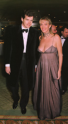 ANNABEL HESELTINE daughter of the former Conservative Deputy Prime Minister Michael Heseltine and her husband MR PETER BUTLER, at a dinner in London on 4th March 1999.MPA 27