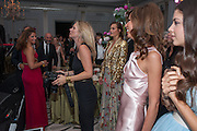 KATE MOSS; HEATHER KERZNER, Heather Kerzner and Marie Curie Cancer Care fundraising dinner,  Claridge's. London.
