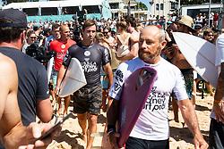 March 23, 2019 - Manly Beach, NSW, Australia - TOM CARROLL during masters event at Vissla Pro. (Credit Image: ? Ethan Smith/WSL via ZUMA Wire/ZUMAPRESS.com)