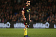 Pablo Zabaleta of Manchester City looking on. Premier League match, Crystal Palace v Manchester city at Selhurst Park in London on Saturday 19th November 2016. pic by John Patrick Fletcher, Andrew Orchard sports photography.
