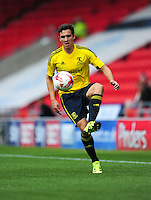 Middlesbrough's Stewart Downing in action during todays match  <br /> <br /> Photographer Chris Vaughan/CameraSport<br /> <br /> Football - Pre-Season Friendly - Doncaster Rovers v Middlesbrough - Saturday 25th July 2015 - Keepmoat Stadium, Doncaster<br /> <br /> © CameraSport - 43 Linden Ave. Countesthorpe. Leicester. England. LE8 5PG - Tel: +44 (0) 116 277 4147 - admin@camerasport.com - www.camerasport.com