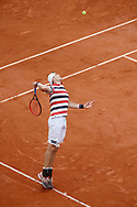 John ISNER (USA) served during the Roland Garros French Tennis Open 2018, day 9, on June 4, 2018, at the Roland Garros Stadium in Paris, France - Photo Stephane Allaman / ProSportsImages / DPPI